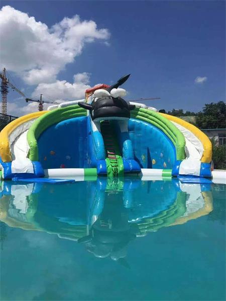 自在庄园 户外泳池清凉开放74