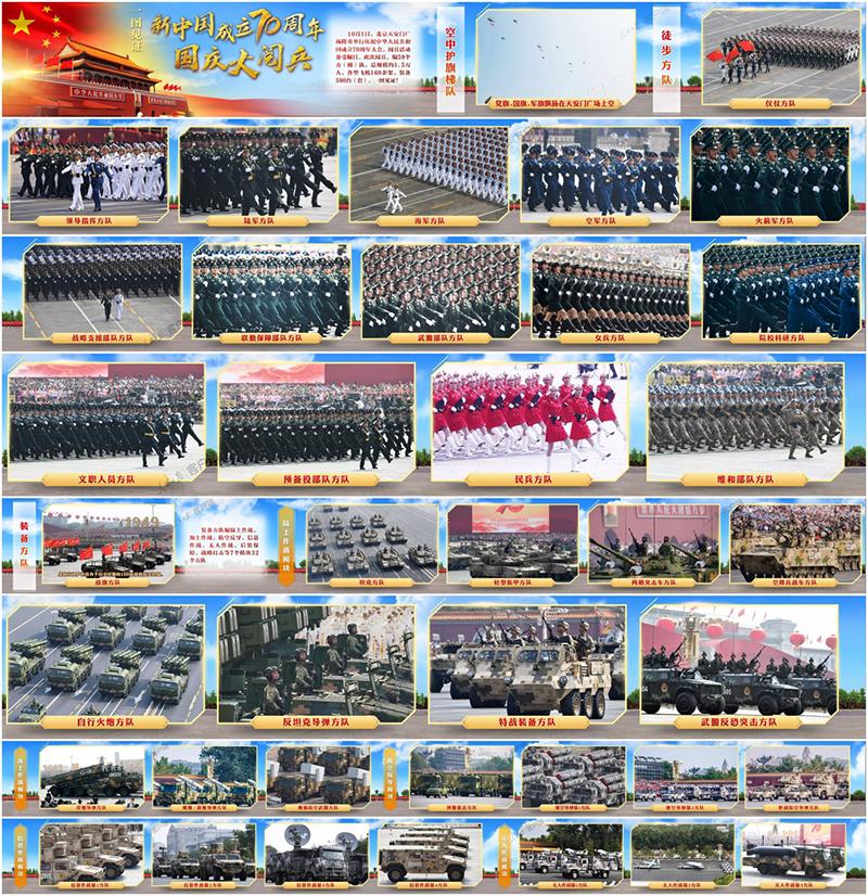 国庆观看70周年阅兵仪式68
