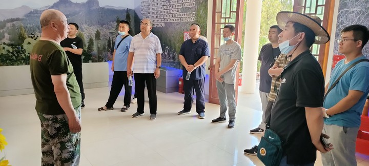 纪念百年党史,九邦集团党支部组织党员参观马鞍山红色旅1